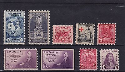 USA - Mint stamps 1920's - 1930's