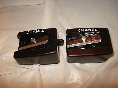 Lot Of 2 Chanel Sharpener For Eye And Lip Liners With Cleaning Pick New Never Us