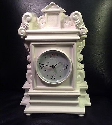White Clock Diamantini & Domeniconi Made in Italy
