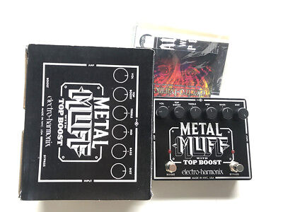 EHX Metal Muff, Fuzz, Top Boost, 2nd Channel, Original Boxing, Guitar Effect Ped