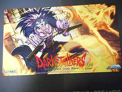 "UFS Darkstalkers playmat w/ ""J. Talbain"" artwork  *NEW* -Matrix Cards and Games-"
