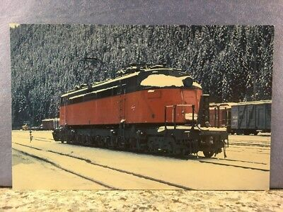 POSTCARD Snowy Joey, Milwaukee Road, Train Railroad