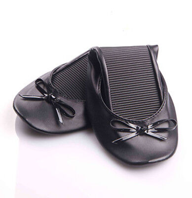 Foldable flats rollable ballet slippers footwear