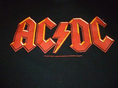 AC/DC Shirt ( Used Size XL ) Very Nice Condition!!!
