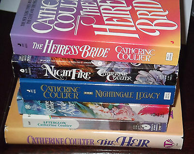 Lot Of 6 Catherine Coulter New  Historical Romance Books