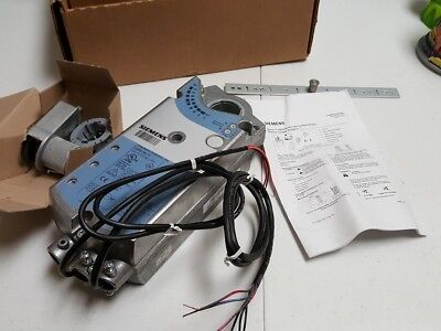 Siemens GBB136.1P Plenum Rated Damper Actuator Electronic Direct Coupled Rotary