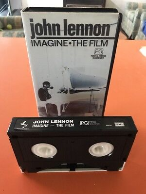 John Lennon Imagine The Film  Beta Video, Rare