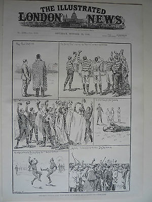 "RUGBY. "" SURREY v NEW ZEALAND MAORI'S."" 1888. VERY RARE."