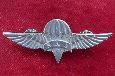 Police Of Serbia - Special Antiterrorist Unit Parachuters Breast Badge 2