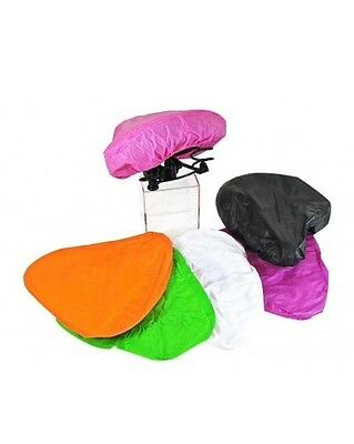 Waterproof Bike Seat Saddle Cover Assorted Colours Fits Most Seats BMX