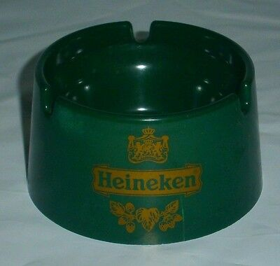 Original Heineken Exclusive Ashtray for home bar, collector or man cave Rare