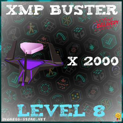 INGRESS L8 XMP BUSTER - 2000 pcs