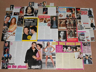 25- KEANU REEVES Magazine Clippings