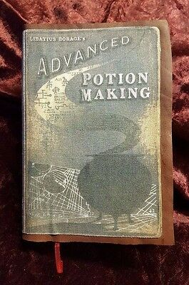 Harry Potter Snape Half Blood Prince Potion Book Rare Handmade Leather 300 Pages