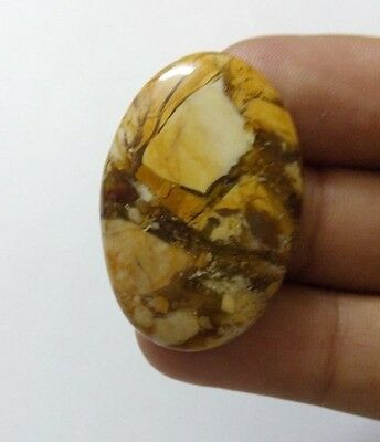 26.35Cts 100% Natural Real Rare Cut Septarian Oval Africen Cabochon Gemstone1084