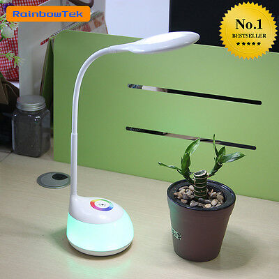 Rechargeable LED Lamp Touch Sensor Eye Care Table Lamp for Kids 256 RGB Color