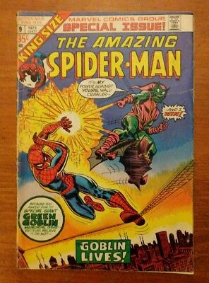 Marvel Comics Amazing SPIDER-MAN King-Size Annual #9 The Green Goblin