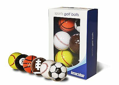 Longridge Sports Golf Balls - Multi Pack