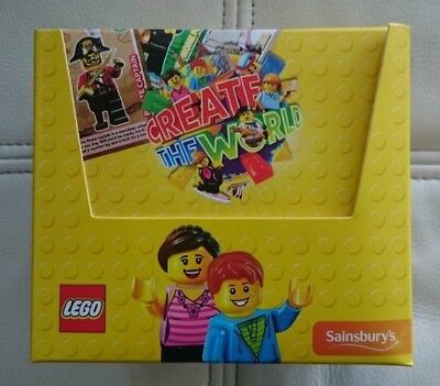 Lego Create the World Collectors Cards Box 150 Packs x 2 Cards
