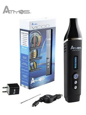 ATMOS VICOD  BEST PORTABLE DRY HERB   NEW Herbal Vaporiser Nextday* If Posi
