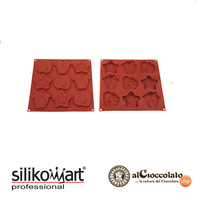 Silikomart Stampo Silicone Biscotti Natale My Christmas Cookies Hsh02B Forme