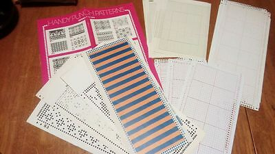 knitting machine punchcard lot, new unpunched cards + more