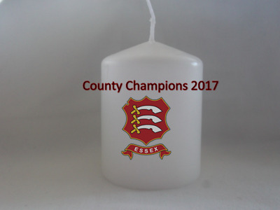 Unique Essex Cricket Club County Champions 2017 Candle Gift
