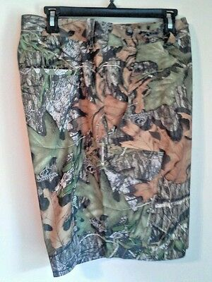 UNDER ARMOUR STORM 1 FISH HUNTER CAMO CARGO SHORTS SZ 42 MOSSY OAK $75 for $33