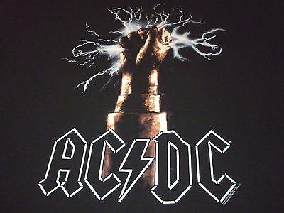 AC/DC Vintage Shirt ( Used Size XL ) Very Nice Condition!!!