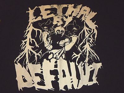 Lethal By Default Shirt ( Used Size XL ) Good Condition!!!