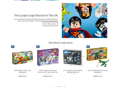 Fully Stocked LEGO DUPLO TOYS Website Business|FREE Domain|Hosting|Traffic