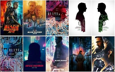 10 Blade Runner 2049 Movie 2017 Transparent Promo Card PVC CHARACTOR Poster C39