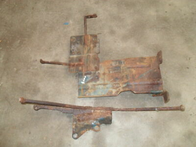Ford 3000 Battery Tray Mounting Brackets - Front & Rear