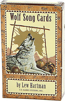 Wolf Song Cards - Lew Hartman - English - U.S.Games - Tarot, Telling Card Oracle