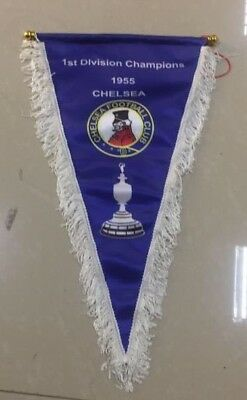 the 1955 1st division winners styled pennant , double sided
