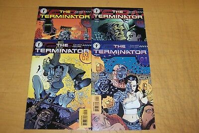 Dark Horse Comics The Terminator 1-4  Full Set 1998