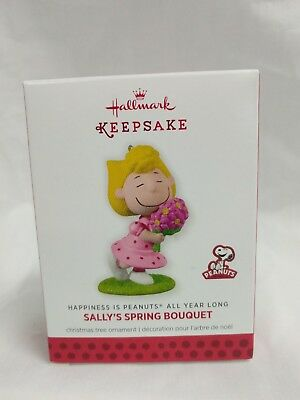 Hallmark Keepsake Ornament 2014 Sally's Spring Bouquet Happiness is Peanuts NIB