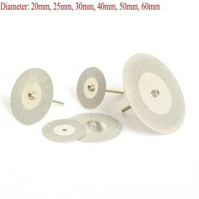 Mini Small Diamond Cutting Disc Blade Cut Off  Wheel For Dremel Drill 20mm-60mm