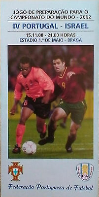 Programme Portugal - Israel 2000