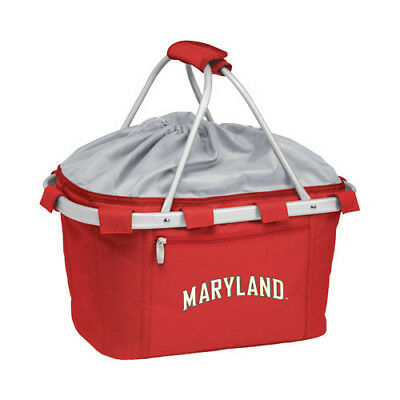 Picnic Time Unisex  Metro Basket Maryland Terrapins Embroidered Red Size OSFA