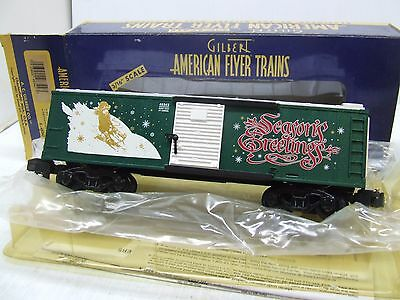 American Flyer 2001 Xmas Box Car 48342