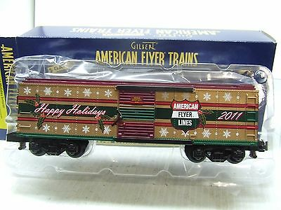 American Flyer 2011 Xmas Box Car 48394