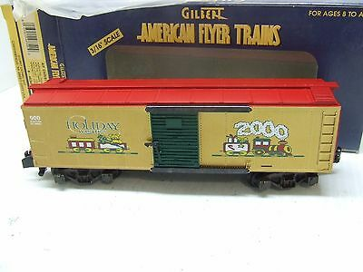 American Flyer 2000 Xmas Box Car 48340