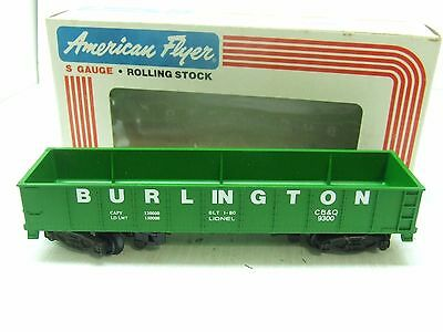 American Flyer Burlington Northern Gondola 9300