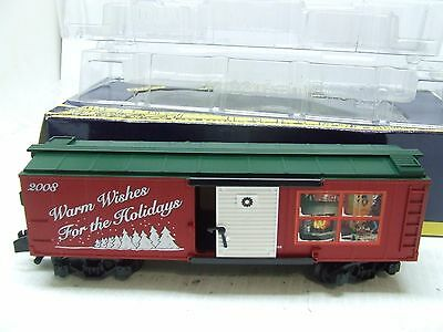 American Flyer 2008 Xmas Box Car 48374