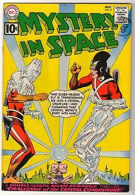 DC Comics VFN-  8.5 JUSTICE LEAGUE MYSTERY IN SPACE ADAM STRANGE  #71