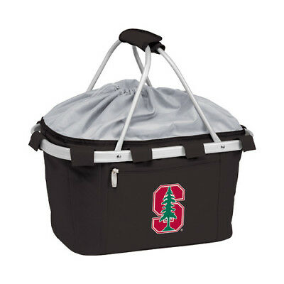 Picnic Time Unisex  Metro Basket Stanford Cardinal Embroidered Black Size OSFA