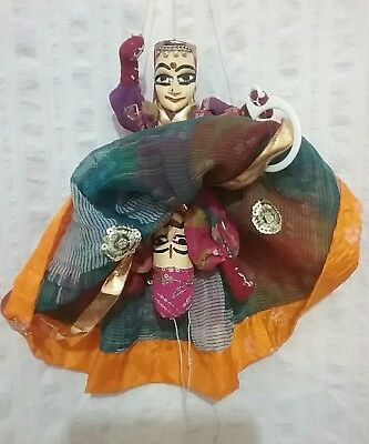 Traditional Indian Double Puppet Man/Woman