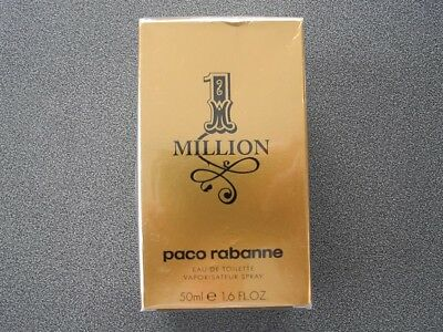 PACO RABANNE ✨ 1 Million 50ml ✨ Homme - Eau de Toilette - Spray - NEU / OVP