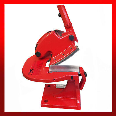 WNS Heavy Duty Throatless Shear 100mm Blade / Metal Cropper Manual Guillotine